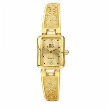 2016 Women Dress watches Ladies Butterfly Quartz Watches Women Wristwatches Bracelet Bangle TOP Brand Luxury Party Korean Style