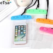 eTya Women Men Travel Packing Coin Money Card Wallet Phone Bag Phone Waterproof Bag Summer Beach Pouch Case Travel Accessories