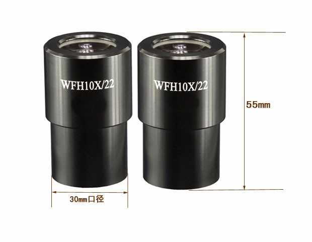 1pc WFH10X Eyepiece 22mm Large Field of View Ultra Wide Angle High Eye Point Eyepiece Mount 30mm for Stereo Microscope1pc WFH10X Eyepiece 22mm Large Field of View Ultra Wide Angle High Eye Point Eyepiece Mount 30mm for Stereo Microscope