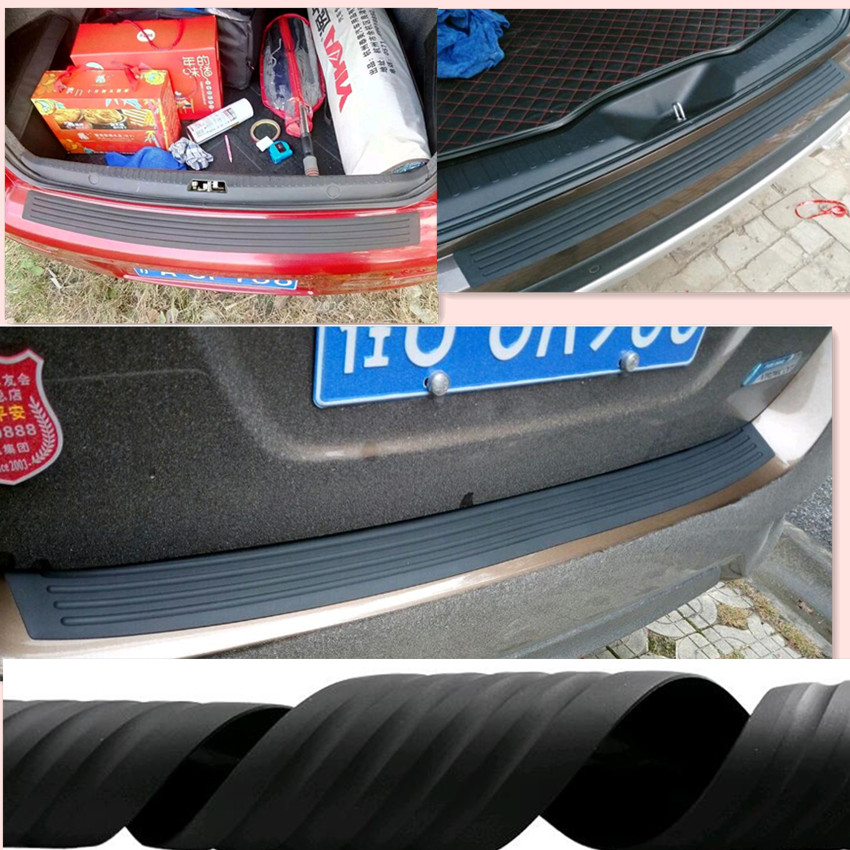 Car Rear Bumper Rubber <font><b>sticker</b></font> For Volkswagen VW Polo Passat B5 B6 CC <font><b>GOLF</b></font> 4 5 <font><b>6</b></font> Touran Bora Tiguan Peugeot 307 206 accessories image