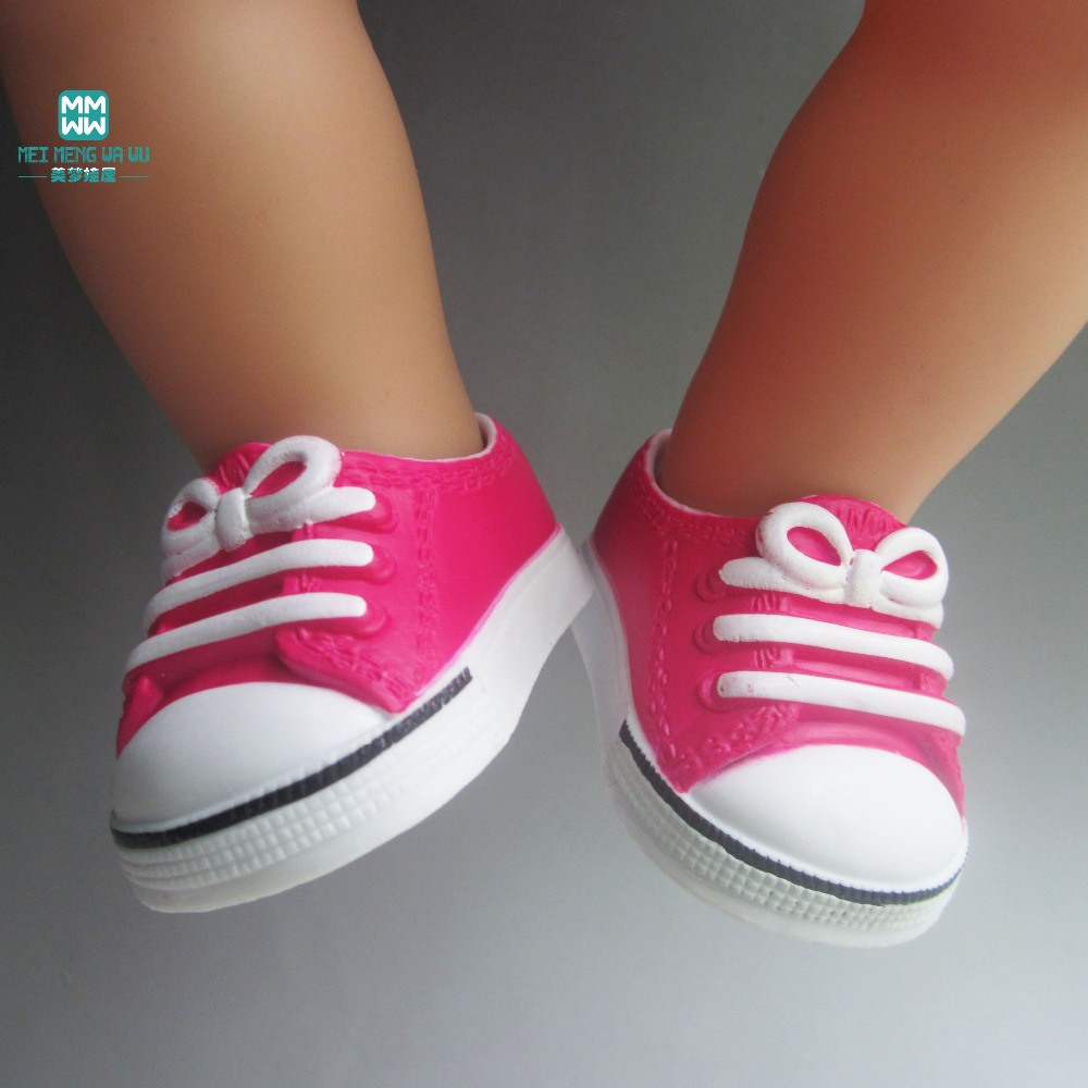 7.5cm fashion Shoes for Dolls fits 18