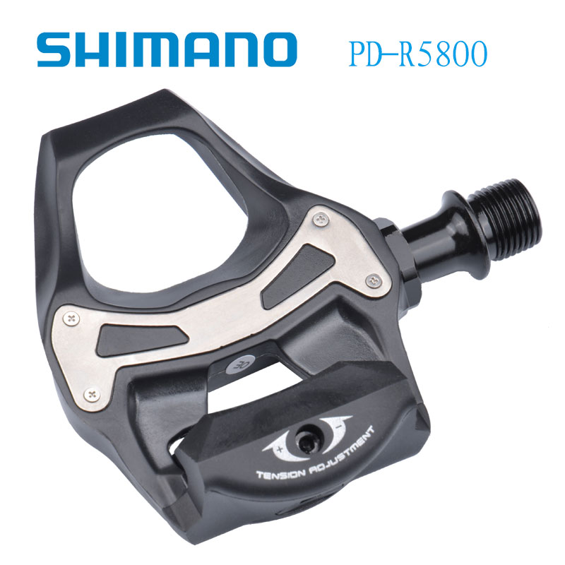 SHIMANO 105 PD 5800 Auto Locking SPD Pedals Components Using for Road Bike Road Bike Parts