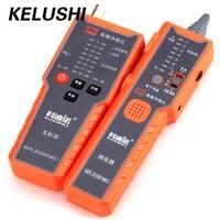 KELUSHI KD658 anti-interferentie Geen Lawaai Fiber Kabel Tester Netwerk Telefoon Kabel Tracker Wire Toner Tracer Tester met Tas