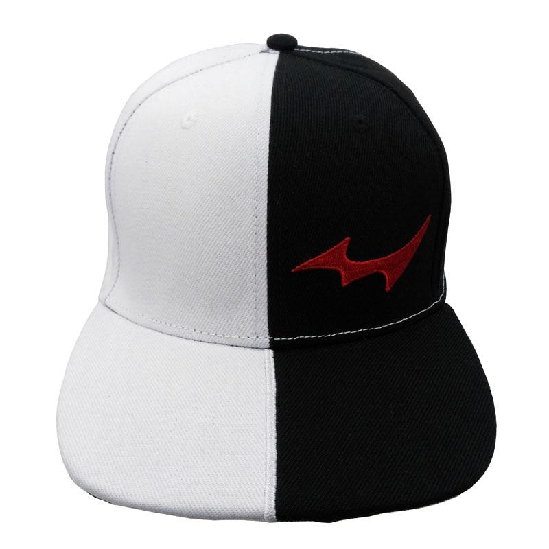 Anime Danganronpa Baseball Caps Monokuma Hip-Hop Snapback Hats Men Women For Outdoor Sports Accessories