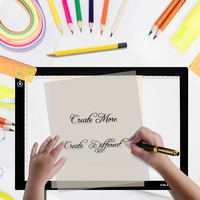 Huion New A2 LED Tracing Boards Ultra Thin Light Pads Professional Animation Tracing Light Boxes LED Light Pad Panels
