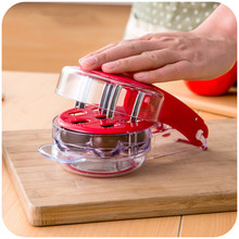 1PC Cherry Pitter Cherry Stone Remover Seed Separator Remove Cherry Bones Fruit Corer Olive Pits Fruit Tools Gadgets OK 0505