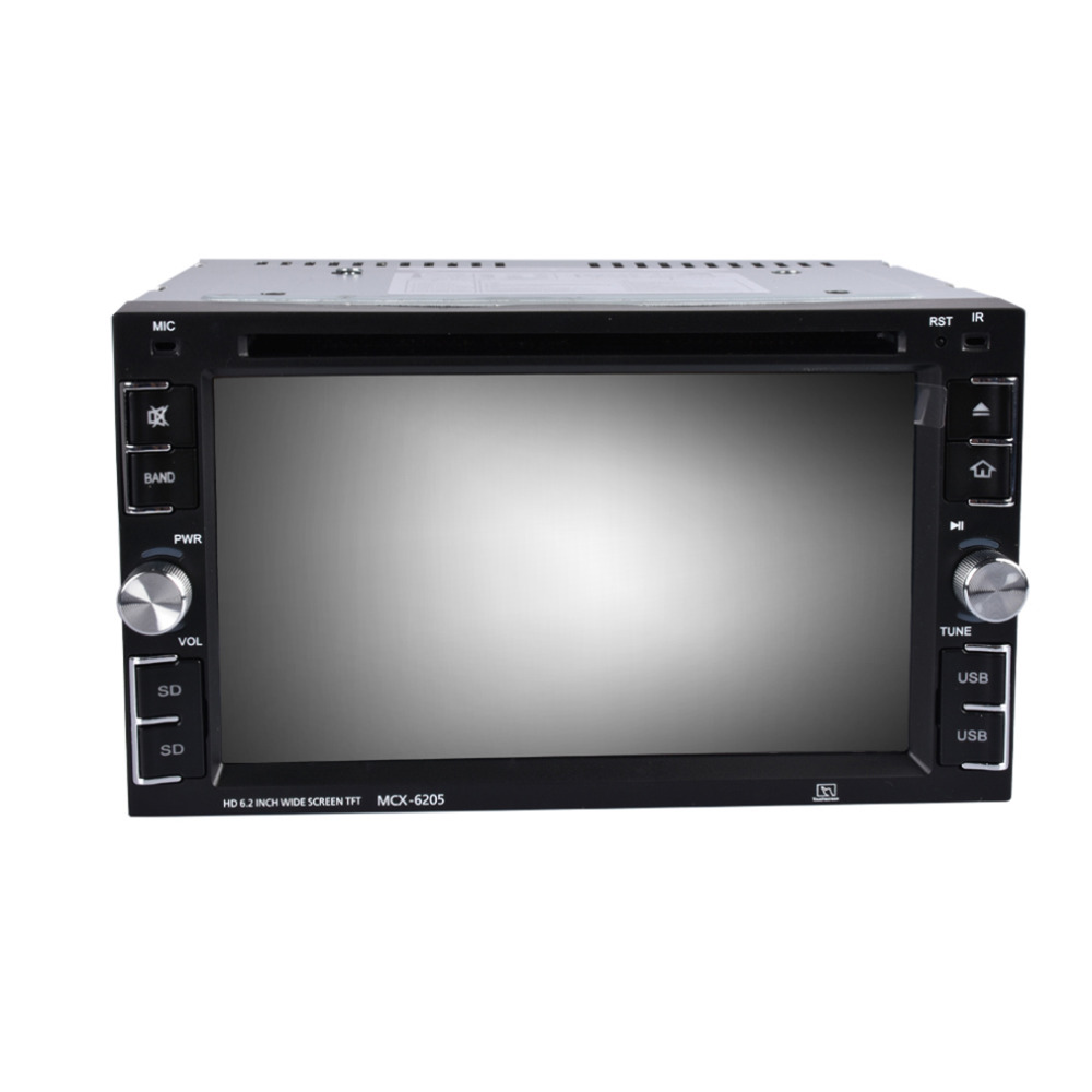 2 DIN Car DVD Player Double Radio Stereo In Dash MP3 Head CD Camera Parking HD Video Audio 800 x 480 Touch Screen
