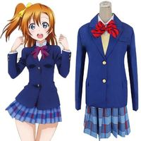 Children Cartoon Japanese Anime Love Live Cosplay Halloween Cosplay Costume Girls School Uniform Halloween Party Clothing