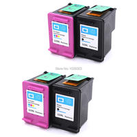 4x Compatible Ink Cartridge For HP 122 HP122XL Ink For HP Deskjet 1050 2050 2050s 1010