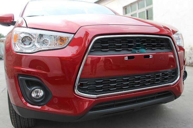 ABS Chrome Front Center Grill Grill Frame Cover 1 copë NEW NEW For - Pjesë këmbimi për automjete - Foto 4