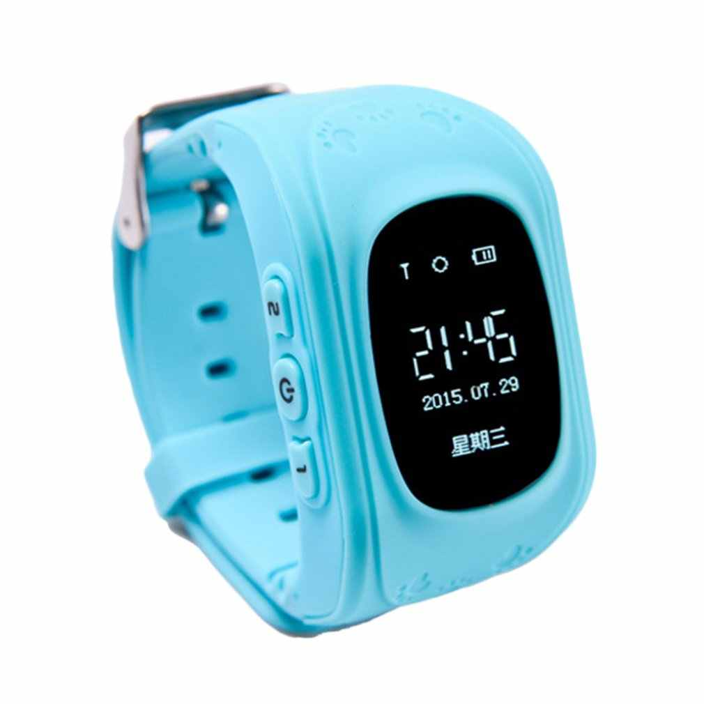 Q50 GPS Tracker SOS Anti Lost Children Smart Watch Monitoring Positioning Phone Baby Kids Safe Watch Compatible IOS & Android