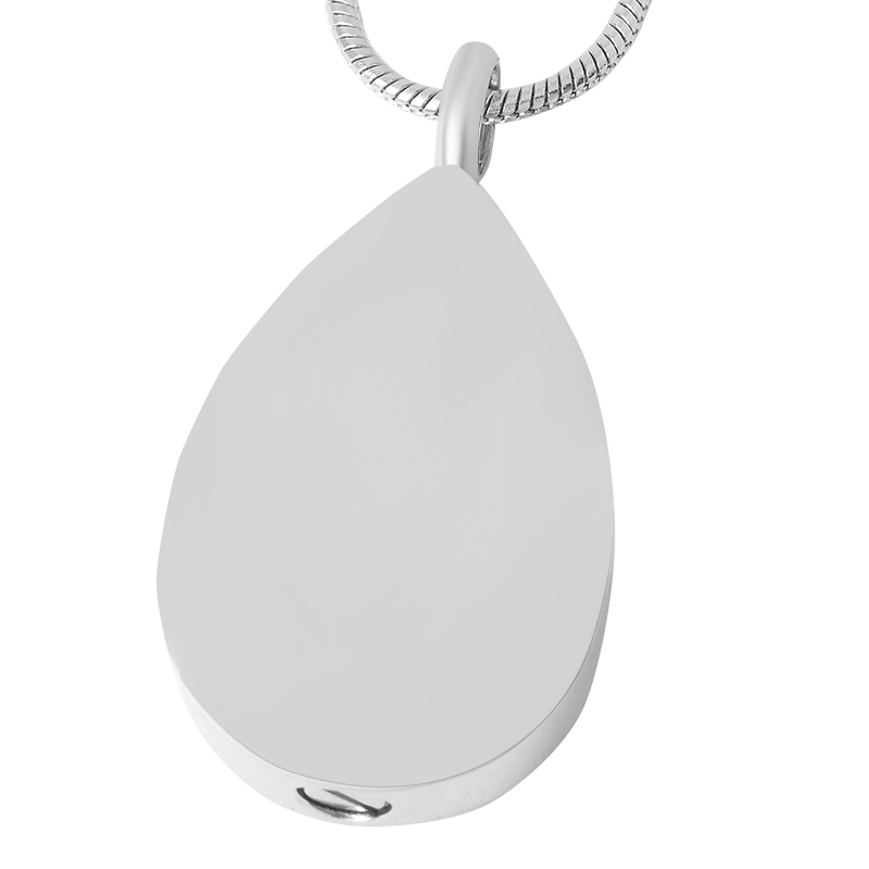 IJD9433 Engravable Blank Stainless Steel Teardrop