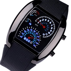 Novel design ol watch fashion aviation turbo dial flash led watch gift mens lady sports car.jpg 250x250