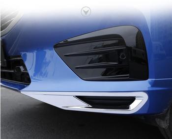 Luces antiniebla delanteras y traseras de JINGHANG ABS marco decorativo lámpara de coche laminada ajuste exterior para Volvo XC60 2018 2019
