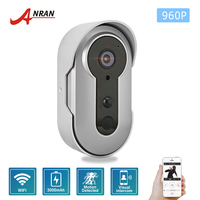 ANRAN 960P Wireless Smart DoorBell WiFi Video Camera Phone Door Intercom 4 IR Night Vision 3000