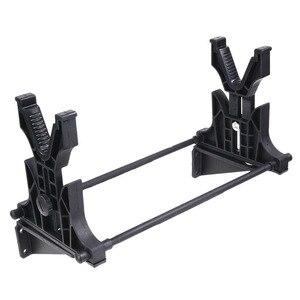 Image 2 - Подставка для ружья, тактическая стойка для уборки, обслуживания и демонстрации винтовки, подставка для пистолета, держатель, настенная подставка для охотничьей винтовки, аксессуары
