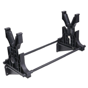 Image 2 - Tactical Cleaning & Maintenance&Display Rifle Stand Gun Rack Cradle Holder Bench Rest Wall Stand for Hunting Rifle Accessories