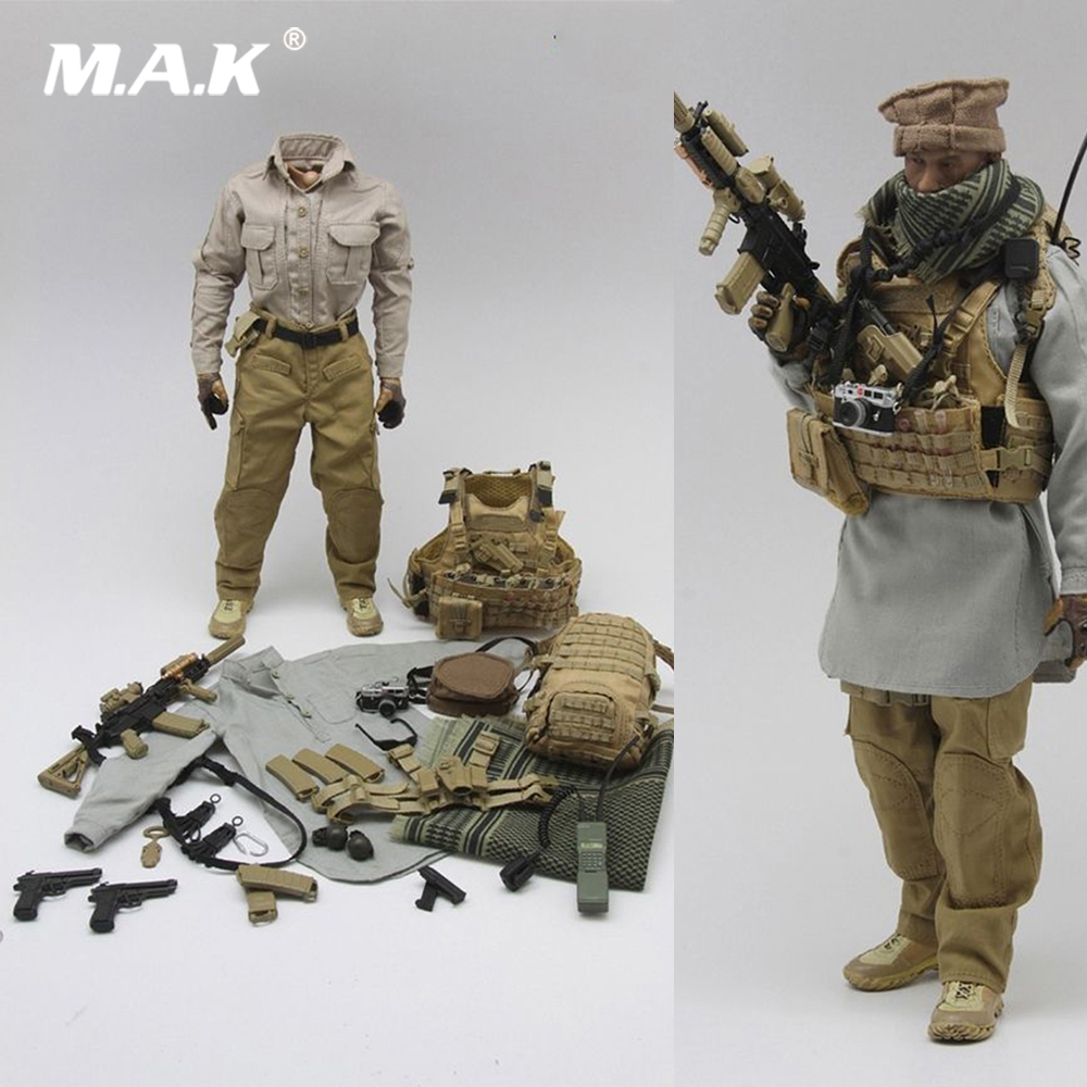 1035 1/6 Scale Man Solider Clothes Set Uniform Clothes Set Mercenary 2.0 without Head Body for 12 inches Male Action Figure Body 1 6 male clothes set military uniform wwii soviet army cossack cavalry clothes suit for 12 inches man action figure accessory