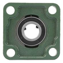 UCF205/205-16 30mm/25.4mm Pillow Block Square Bearing With Solid Base 4 Mounted Holes(China)