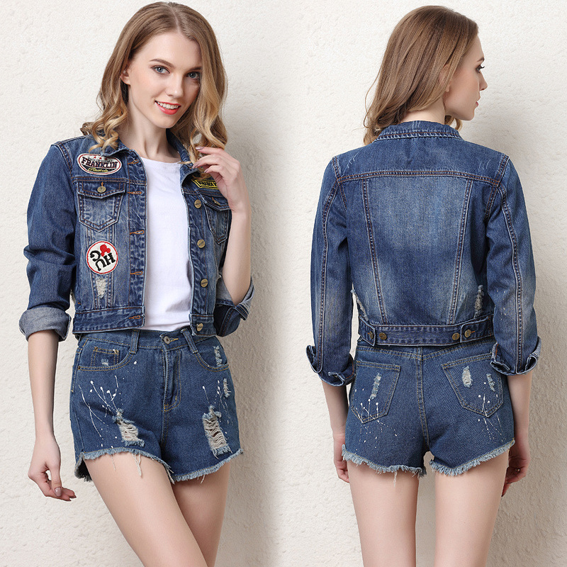 Popular Summer Jean Jacket-Buy Cheap Summer Jean Jacket lots from ...