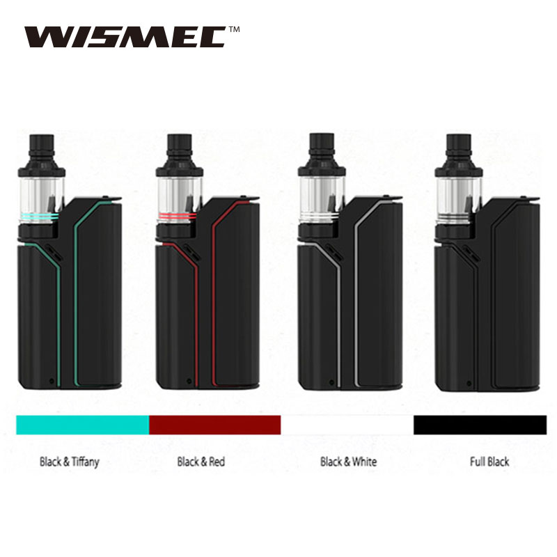 Original 75W Wismec Reuleaux RX75 MOD With Wismec Amor Mini Tank 2ml Electronic Cig vs 75W Reuleaux RX75 TC Box Mod Vaping цены