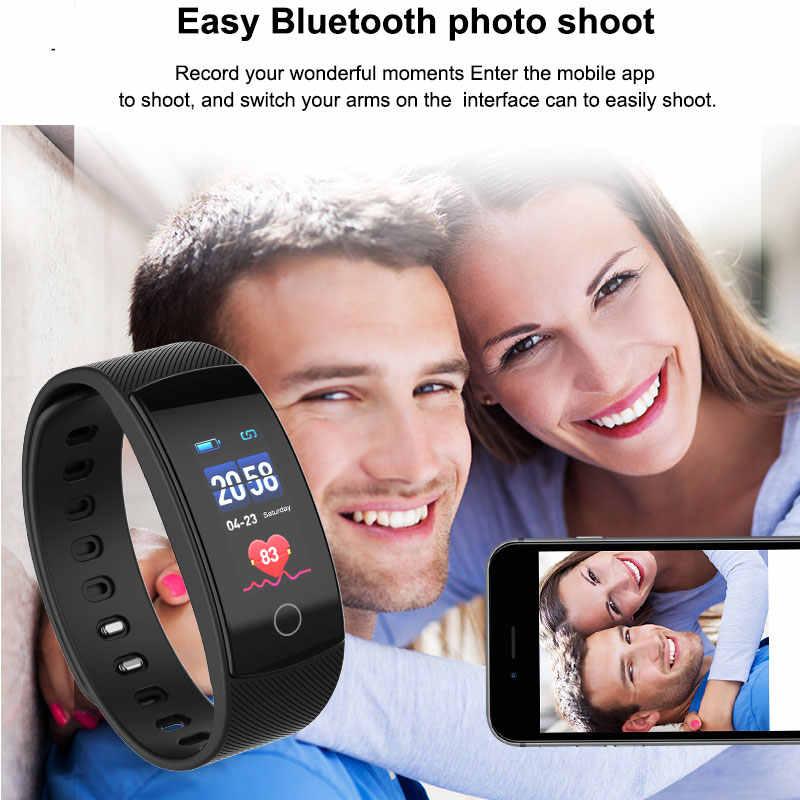 חכם שעונים BOAMIGO מותג צמיד צמיד bluetooth קצב לב שינה ניטור עבור IOS אנדרואיד טלפון ספורט כושר שעון