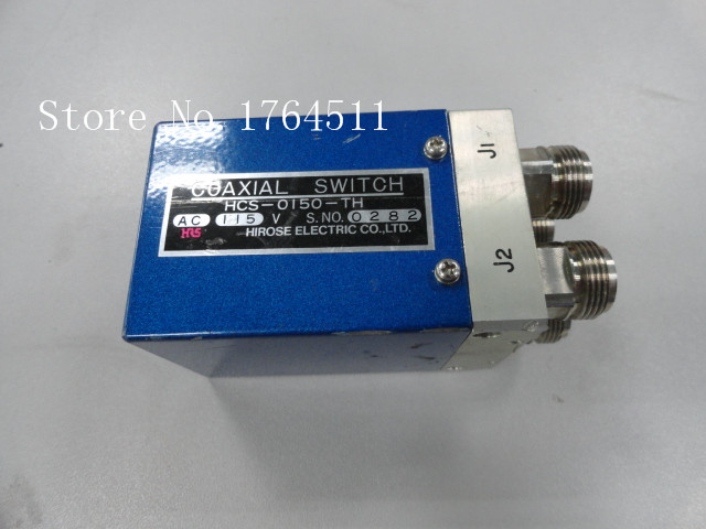 [BELLA] HRS HCS-0150-TH DC-9GHZ AC-110V DPDT RF - N