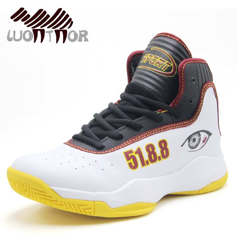 LUONTNOR High Ankle Men Basketball Shoes Male Comfortable ...