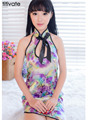 Women Classical Cheongsam Lingerie Fun Set Of Sexy Underwdress Underpants Role-playing Uniform Erotic Print Sleepwear Temptation