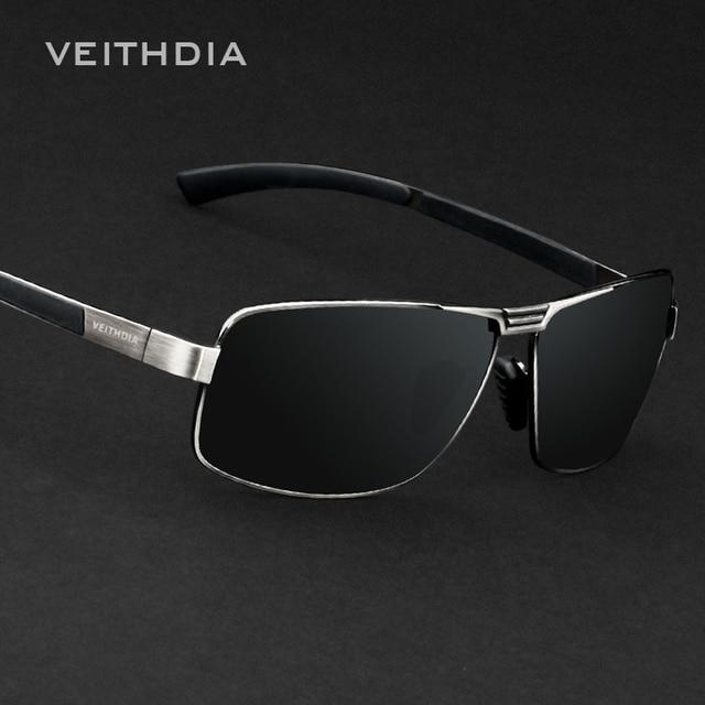 4359e80de9 Veithdia polarizadas diseñador de la marca gafas de sol hombres 2017 new  gafas de conducción gafas