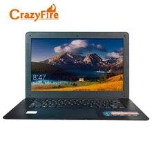 CrazyFire Quad Core WiFi Mini HDMI 4 ГБ оперативной памяти и 128 ГБ ssdd и 500 ГБ HDD ноутбука Windows 10 про 14 дюймов ноутбук Игровые ноутбуки