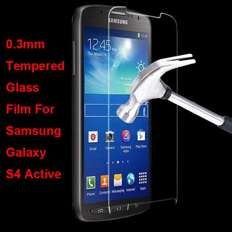 À Prova de explosão de Vidro Temperado Película Protetora Protetor de Tela Para Samsung Galaxy S4 Ativo i9295 i537 Guarda pelicula de vidro