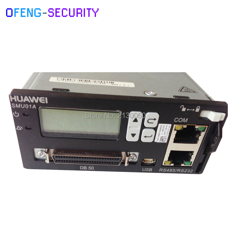 Original New Huawei SMU01A Used For ETP48000-A1 Power Sources