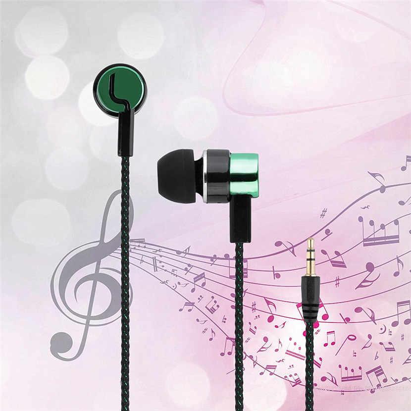 Наушники 5 цветов, спортивные, для бега, с шумоизоляцией, стерео, 1,1 м, в уши, 3,5 мм, медиаплеер, музыкальные наушники, стерео, музыкальные наушники