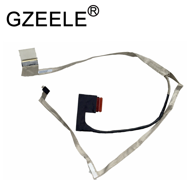 GZEELE NEW LCD LVDS Video Cable For Lenovo IdeaPad G580 G580A G585 Laptop Screen Video Cable 50.4SH07.002