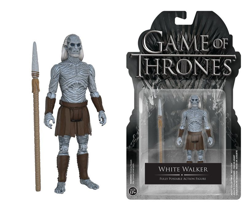 Official Funko Action Figure TV: Game of Thrones - White Walker with Spear 3.75'' Collectible Model Toy with Original Pacakge funko pop game of thrones daenerys targaryen action figure model with gift box