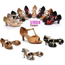 Женские бальные туфли Танго обувь для латинских танцев сальсы