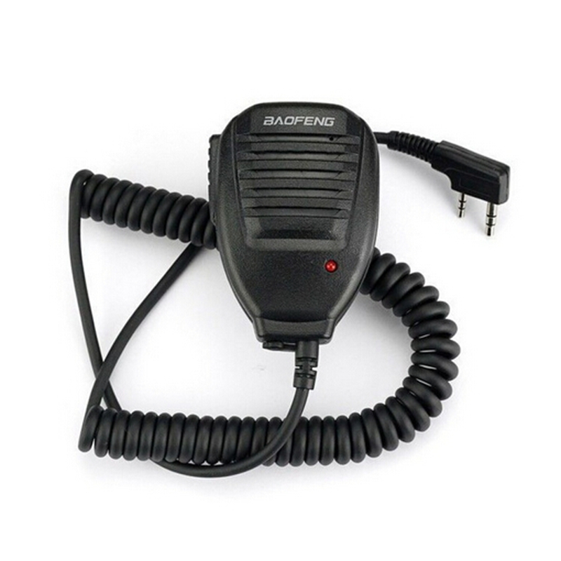 New 2014 Baofeng Speaker Mic For BAOFENG UV-5R 5RA/B/C/D/E UV-3R+  3107 Walkie Talkie With Free Shipping