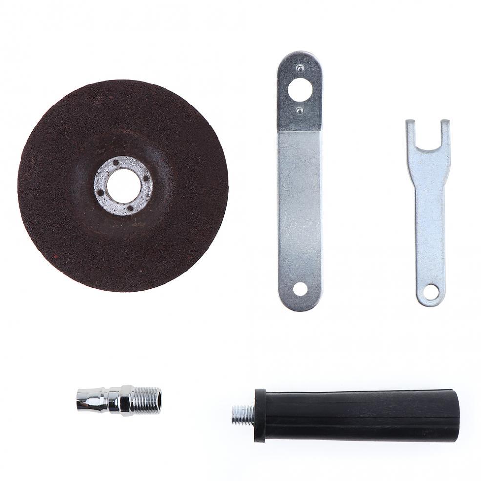 Image 3 - トロ 4 インチ高速空気圧アングルグラインダーとディスクポリッシュピースと PVC ハンドル機械研磨切断操作 - AliExpress   グループ上の ツール からの 空気動力工具 の中