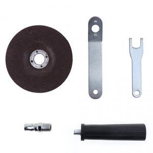Image 3 - Mini polisseuse pneumatique, meuleuse dangle à Air, haute vitesse, 4 pouces, argent/bleu pour Machine à polir, broyer et couper, outil pneumatique