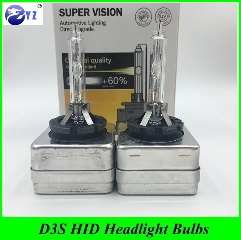 Prix pour 1 Paire HID D3S Projecteurs Remplacement HID d3s Xenon phare Ampoules 12 v 35 w lampes hid 4300 K 6000 K 8000 K 10000 K