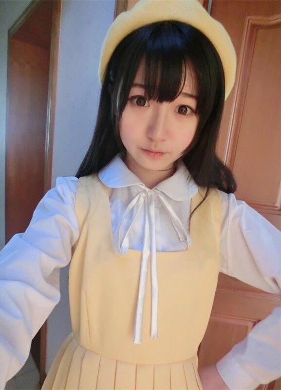 Милые японские школьная Униформа Стиль девочек французские тосты блузка JK с длинным рукавом и воротником в стиле мультфильма «Питер Пэн»; форма футболки