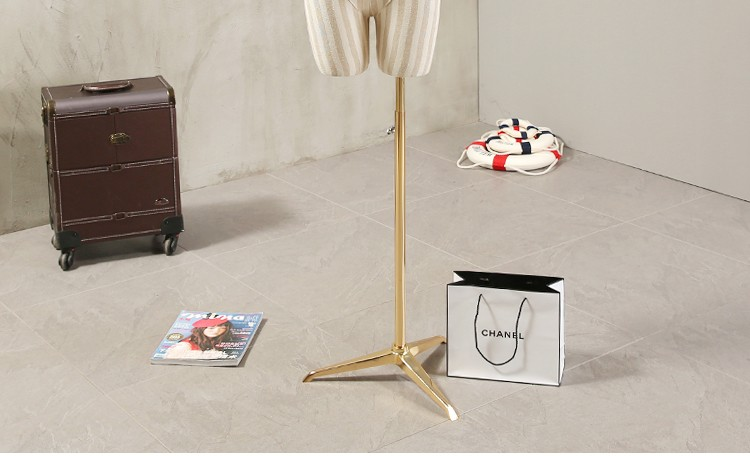 Props female half body mannequin cloth display rack high quality fashion mannequin women fabric mannequin with wooden arms (10)
