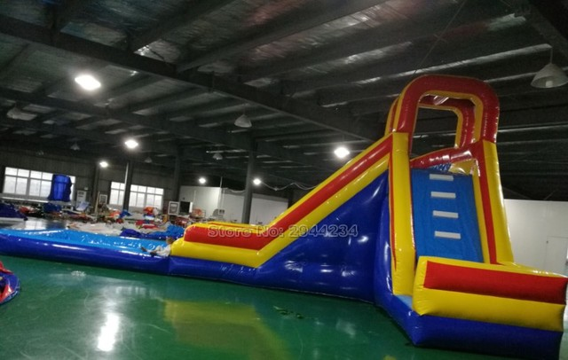 customized gaint inflatable pool slides water slide inflatable slide for pool china factory good price