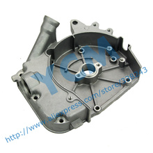 Side Cover Aluminum Fuel Cap GY6 50 80cc Scooter Engine Clutch Cover Spare Parts 139QMB Moped