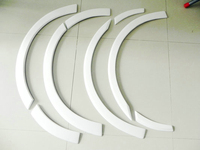 Car styling BRZ ZC6 FT86 GT86 ZN6 FRS FRP Fiber Glass ZL Style Front & Rear Arch Set 8pcs