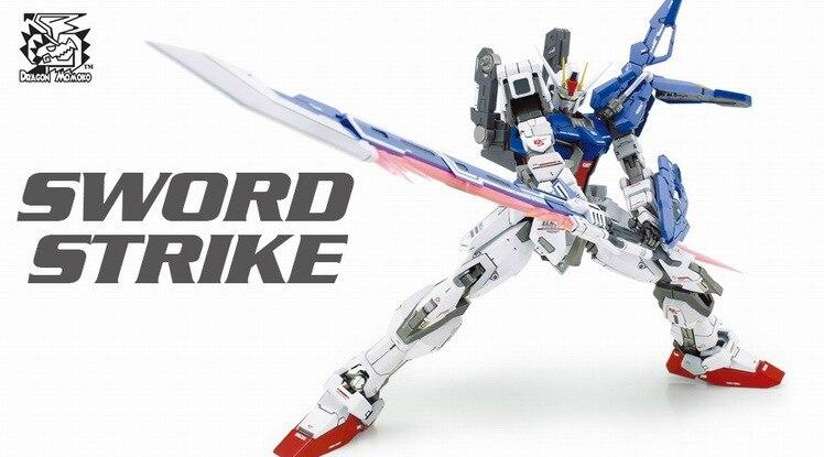 Livraison gratuite Dragon Momoko modèle 1:100 MG RM GAT-X105 + AQM/E-X02 épée frappe Gundam