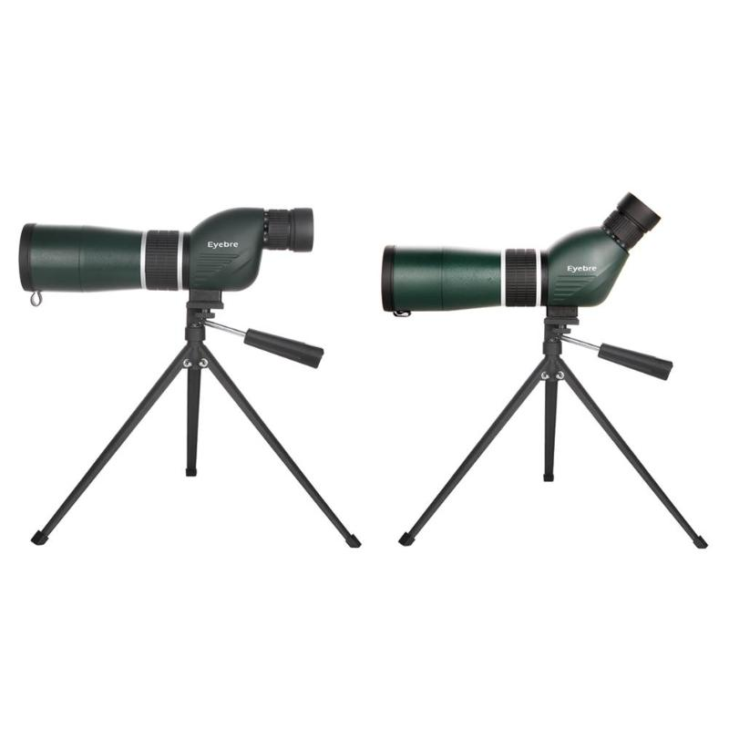 цена Eyebre 20-60X Zoom HD Monocular Outdoor Telescope IPX7 Waterproof Spotting Scope with Tripod for Watch Bird Sightseeing