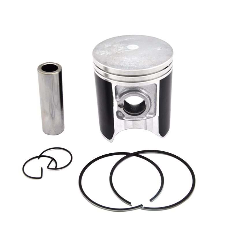 LOPOR CRM250 Piston Kit Rings Set Motorcycle Engine Parts Piston Kit for CRM250 +75 0.75mm Cylinder Oversize Bore Size 66.75mm lopor xt600 piston