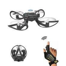 W606-16 2.4g rc zangão quadcopter gesto de detecção controle dron altitude segurar brinquedos helicóptero remoto